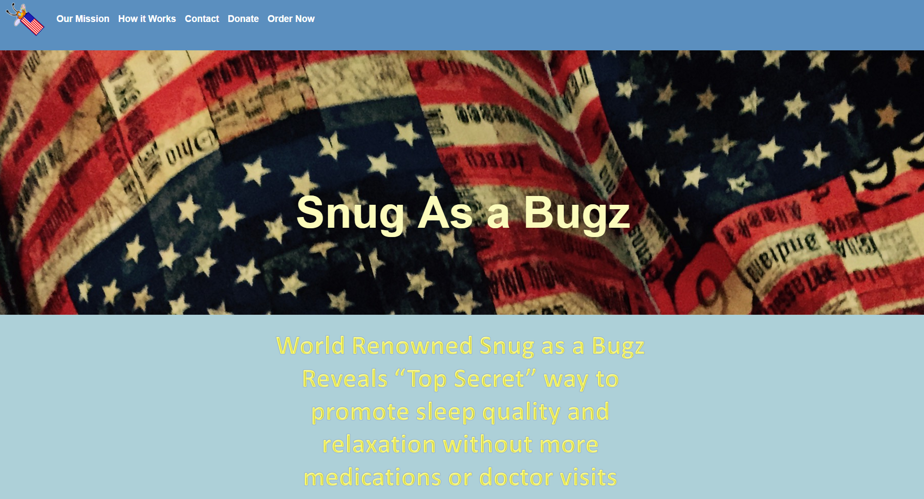 snug as a bugs display